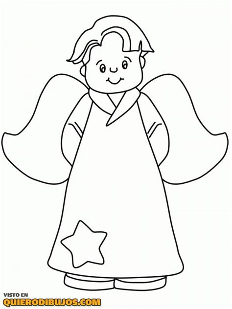 angel coloring pages for preschool 193 ngel con una estrella para colorear