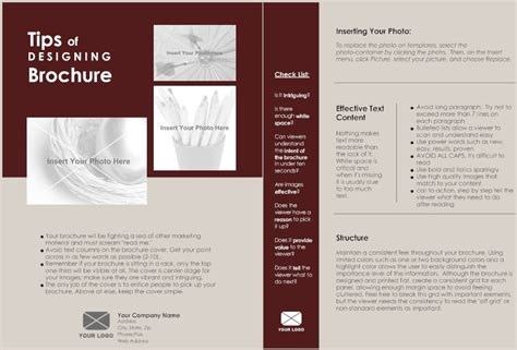 18 1 page brochure templates images one page brochure