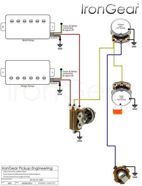3 way toggle switch wiring diagram 3 way guitar toggle
