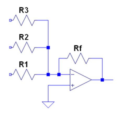 summing with resistors summing lifier resistor values 28 images solved what