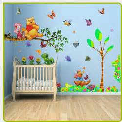 Stickers For Baby Room Walls Baby Room Painting Ideas Winnie Pooh Them Winnie The
