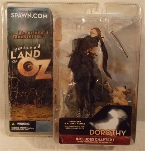 Dorothy Variant Twisted Land Of Oz Us Card Mcfarlane Monsters Series 2 Quot Twisted Land Of Oz Quot Dorothy