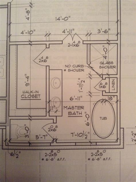 master bathroom layout master bath layout