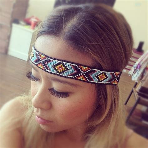 indian beaded headbands beaded american headband accessories