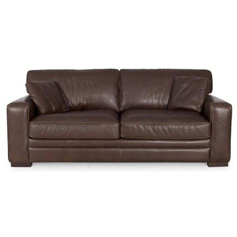 dante leather 7918 contemporary leather stationary sofa