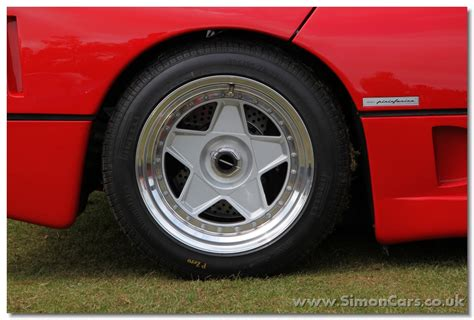 ferrari f40 wheels simon cars ferrari f40