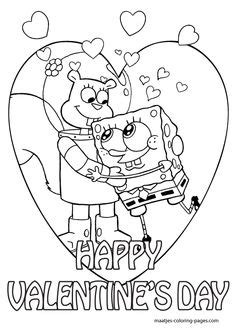 cars valentines coloring pages s day coloring pages spongebob valentines day