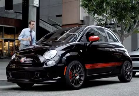 Catrinel Menghia Fiat by Fiat 500 Abarth Advertising With Catrinel Menghia