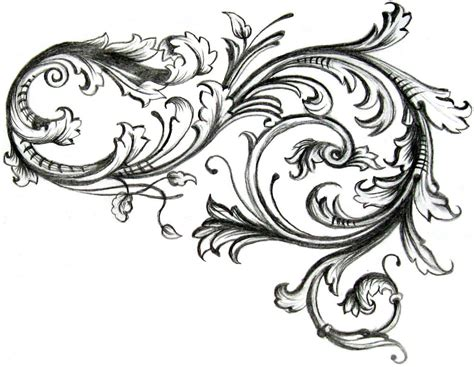filigree tattoo design ideas filigre pattern inspiration