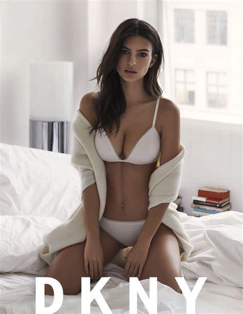 Emily Ratajkowski Leads Dkny S Intimate Apparel Campaign Anna Nooshin Models Hunkem Ller S