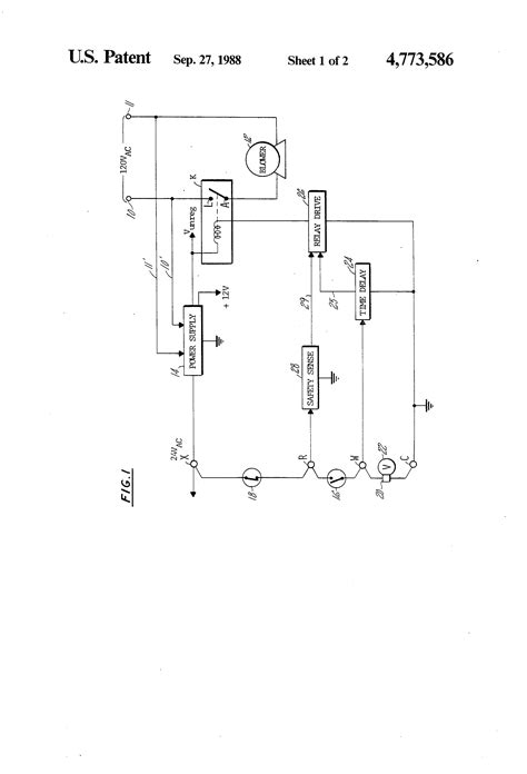 electric furnace fan relay wiring diagram circuit patent us4773586 blower control circuit for a
