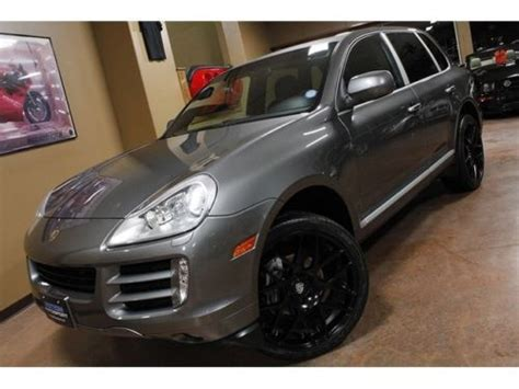 find used 2009 porsche cayenne automatic 4 door suv in