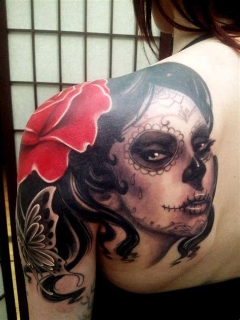 imagenes mujeres pintadas de catrinas catrina mexicana tatuajes para mujeres