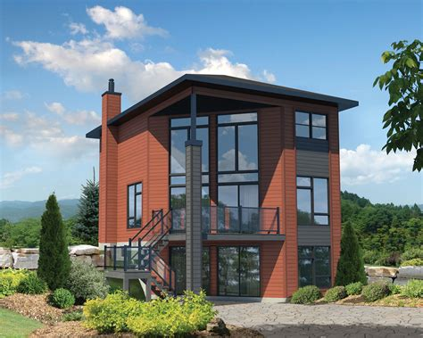 dual master suites plus loft 15801ge architectural two bedroom contemporary house plan 80822pm 2nd floor