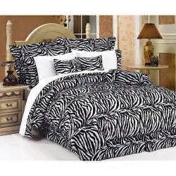 amazon com 11pcs full zebra bedding comforter set w