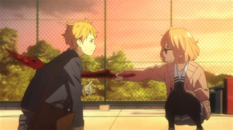 beyond the boundary impressions kyoukai no kanata shiizumi s anime