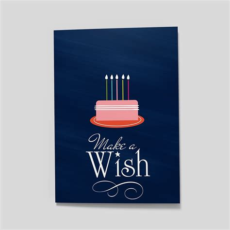 make a wish cards make a wish birthday by cardsdirect