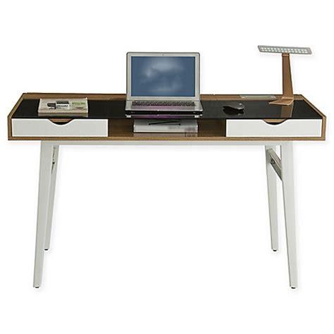 Techni Mobili Compact Computer Desk Techni Mobili Multi Storage Compact Computer Desk In