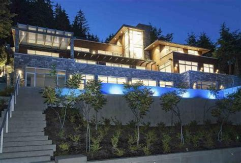 million newly built contemporary mansion  west