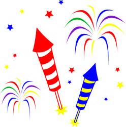 Fireworks and rockets free clip art