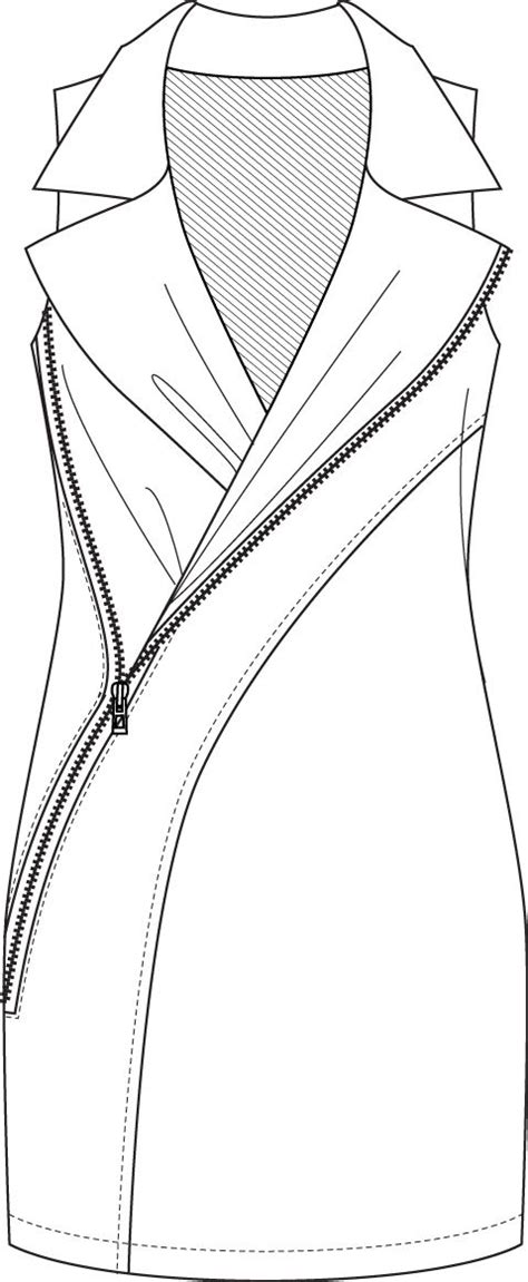 flat pattern drawing nx 17 best images about fashion cad technical on pinterest