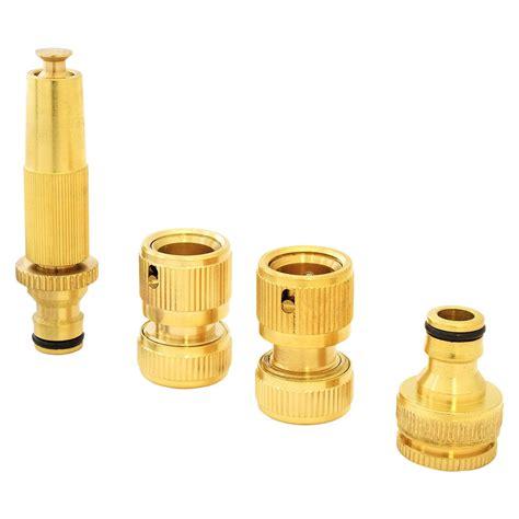 Best Seller Hose Nozzle With Adaptor Pistol Semprotan Adaptor garden lawn car water hose pipe fitting tap adaptor connector spray nozzle lot ebay