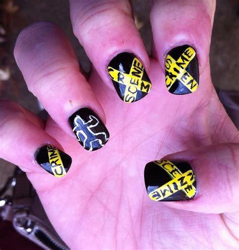 Crime Nail crime nails my nail hair