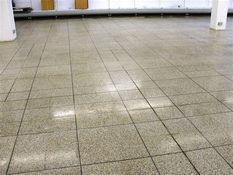 250m2 terrazzo floor clean in dagenham food tile