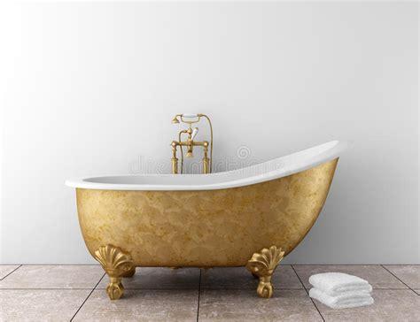 vecchia vasca da bagno stanza da bagno classica con la vecchia vasca da bagno