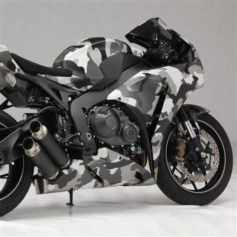 Motorrad Folieren Camouflage by Honda 2012 Cbr1000ra Fireblade Quot Camouflage Quot Bikes And