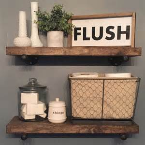 Ideas For Decorating Bathroom Walls 25 best ideas about bathroom shelves on pinterest half