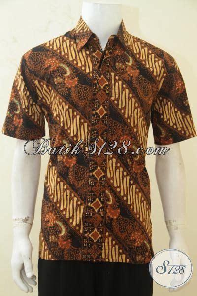 Parang Klasik batik kemeja parang klasik baju batik halus lengan pendek pas buat kondangan di jual eceran