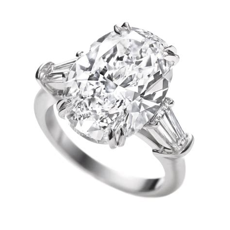 harry winston classic winston oval engagement ring