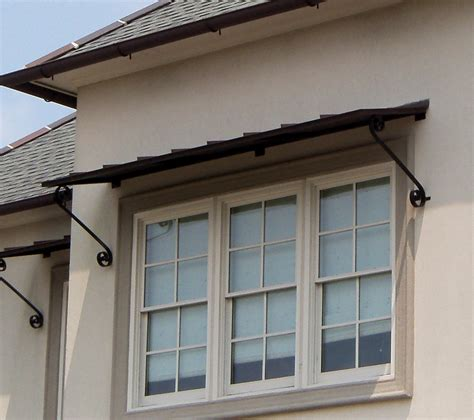 metal awnings for doors window awning