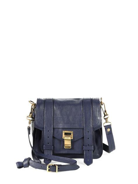 Other Designers Cheap Designer Chic Proenza Schouler Handbags by Proenza Schouler Ps1 Mini Pouch Crossbody Bag In Black Lyst