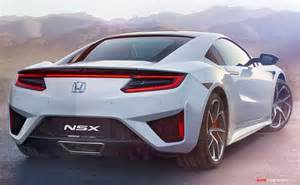 2016 Honda Nsx 2016 Honda Nsx New Pictures And Autoconception