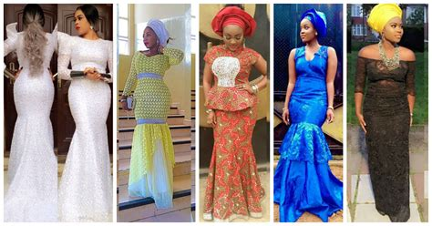 latest lace styles latest aso ebi styles lace inspired amillionstyles com
