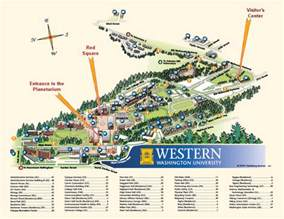 Western Oregon University Map by Wwu Campus Map