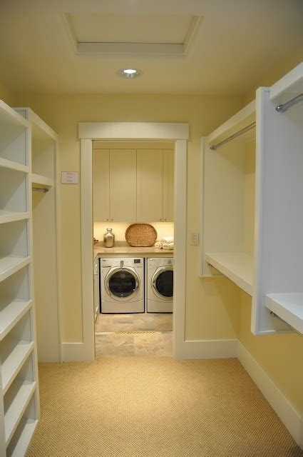 washer and dryer in the closet ideas for the home