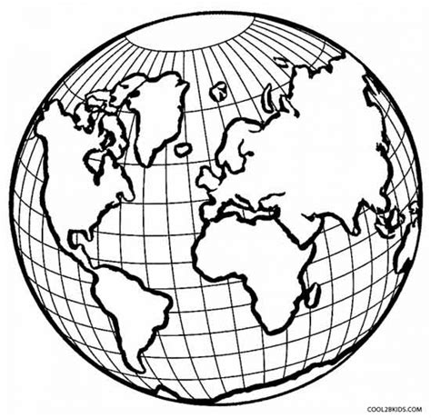 coloring page of globe get this printable earth coloring pages online gvjp11