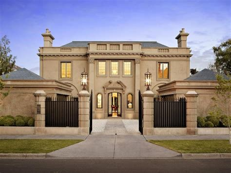 Luxury Tuscan House Plans luxurious gated home in melbourne australia homes of