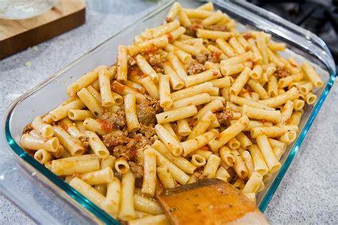 baked ziti recipe simplyrecipes com