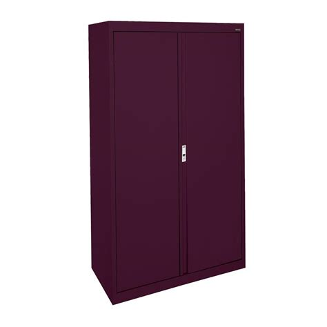 Sandusky System Series 36 In W X 64 In H X 18 In D Home Depot Storage Cabinets With Doors