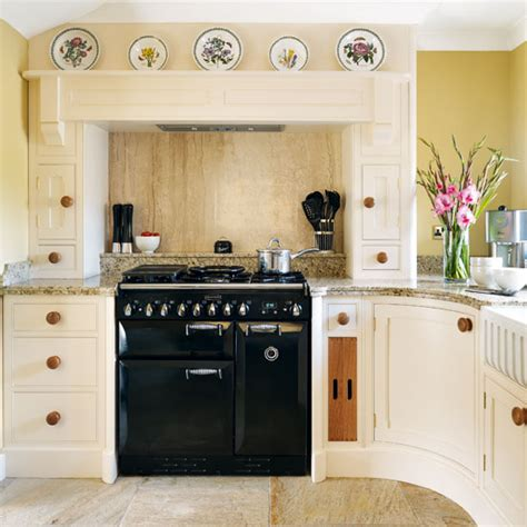 kitchen range ideas rustic country kitchen ideal home