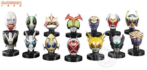 Bandai Rider Mask Collection Rmc Vol 2 14 Robo Rider Limited bandai kamen rider mask collection vol 13 box of 8
