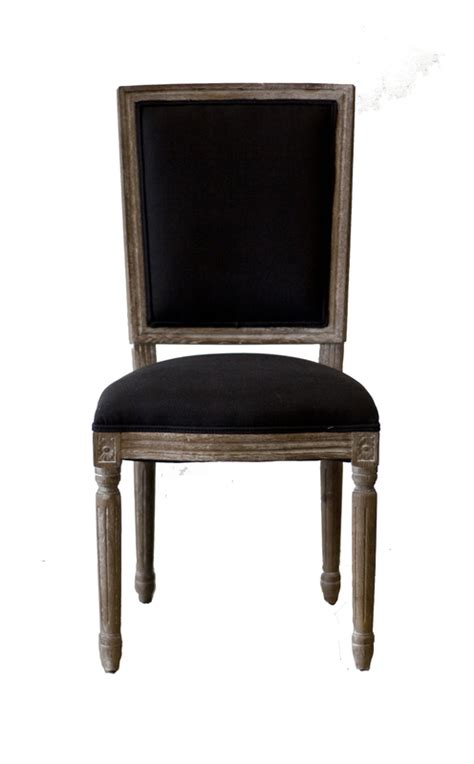 Dining Room Chair Back Cushions Vienna Dining Chair Cushion Back W Black Linen Oak Dining Chairs Eat Products Lh