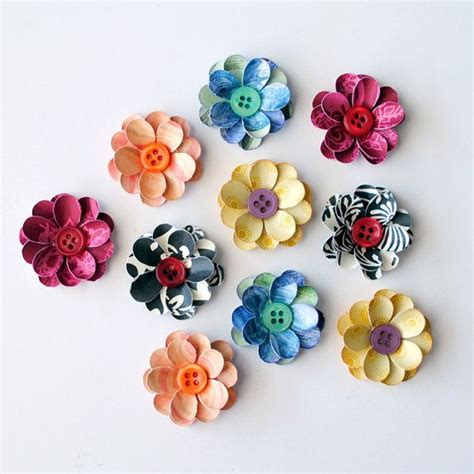 How To Make Paper Flowers For Scrapbooking - paper flowers for scrapbooking flowers