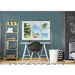 Life Size Athlete Wall Stickers tropical beach seychelles instant window wall decal
