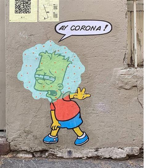 covid graffiti art ed guru