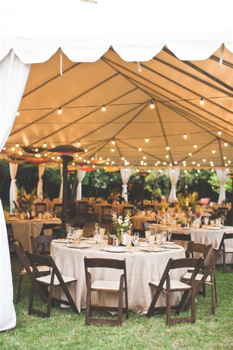 backyard tent wedding reception 15 backyard wedding ideas that reflects that home is the
